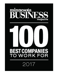 100 Best Companies to Work For in Minnesota 2017