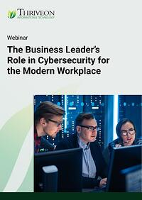Cybersecurity webinar thumbnail image