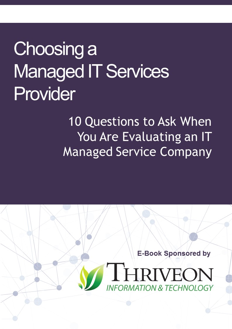 E-Book Choosing a Managed IT Services Provider