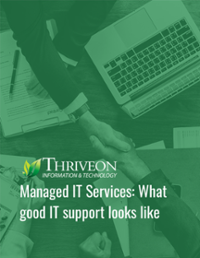 Managed IT Services Ebook Cover