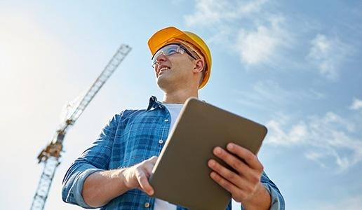 Construction Man on Site