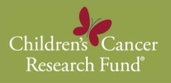 Children's Cancer Research Fund logo on Green